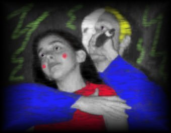 A Picture of Asli & myself during Music of the Night (from the Phantom of the Opera)